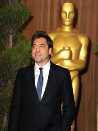 Javier Bardem, que concorre ao Oscar de melhor ator por
