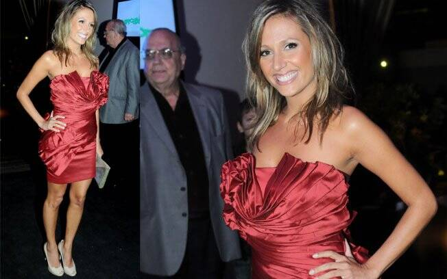 Luisa Mell, que estreou na Globo recentemente com uma participação em