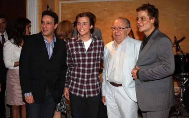Marcelo Médici, Miguel Roncatto, Emiliano Queiroz e Germano Pereira