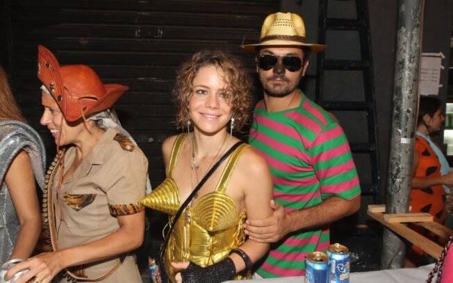 Leandra Leal estava acompanhada do namorado, Ale Youssef