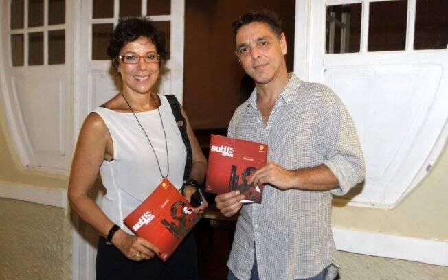 Ângela Vieira e Guilherme Leme