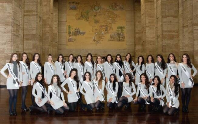Três loiras e vinte e quatro morenas concorrem ao título de Miss Brasil 2011