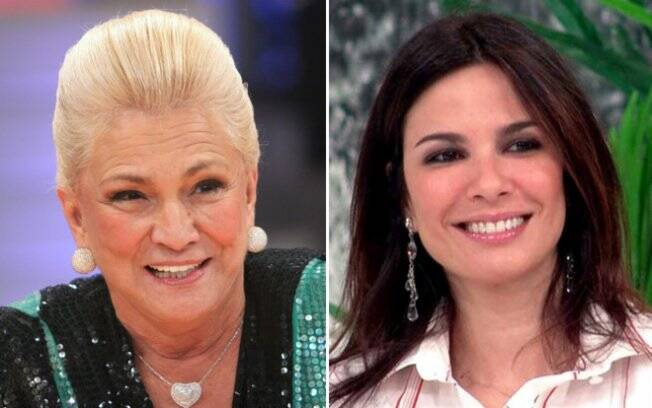 Hebe e Luciana Gimenez: dividindo o horário nobre da RedeTV!