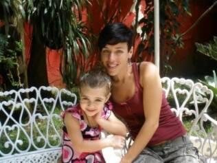 Giovanna e a mãe, Andreia: 25 horas em trabalho de parto nos EUA
