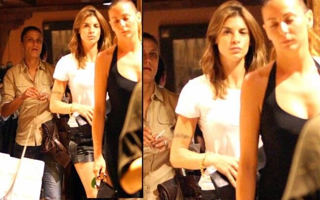 Elisabetta Canalis: passeio com as amigas depois de terminar o namoro com George Clooney