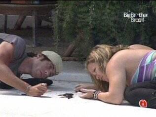 Os brothers tentam ajudar o passarinho