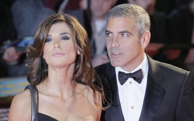 George Clooney e Elisabeta Canalis ficaram juntos por mais de dois anos