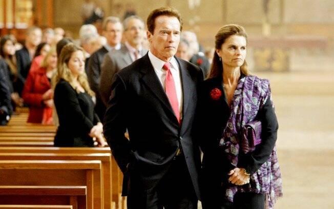 Arnold Schwarzenegger e Maria Shriver