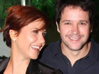 Murilo Benício com Guilhermina Guinle