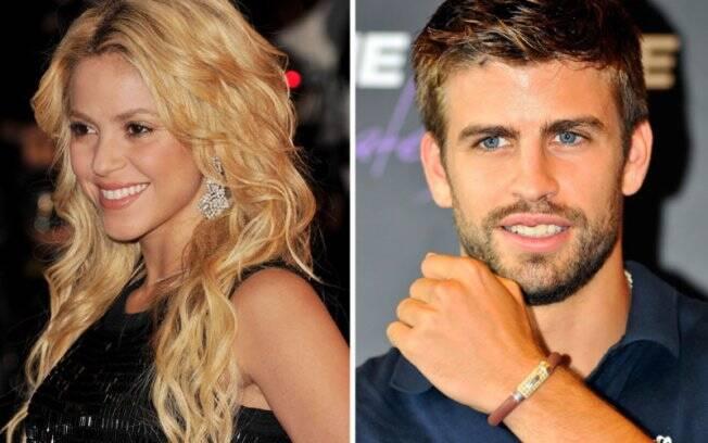 Shakira e Gerard Pique: suposto beijo entre os dois rendeu polêmica