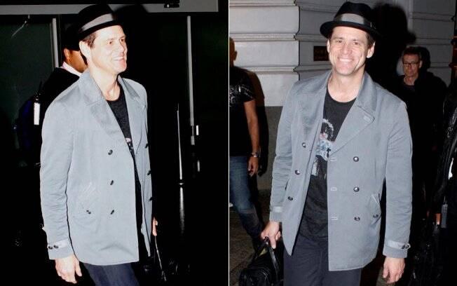 Jim Carrey desembarca animado