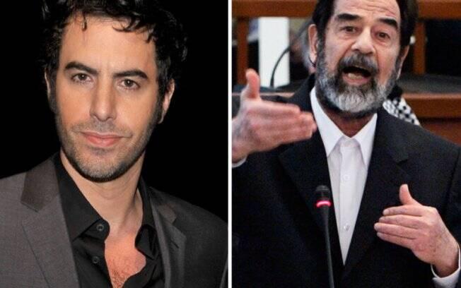 Sacha Baron Cohen será Saddam Hussein em filme