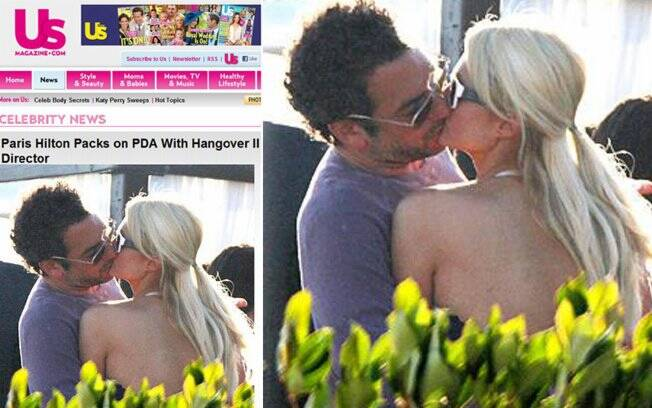 Paris Hilton e Todd Phillips em em Malibu