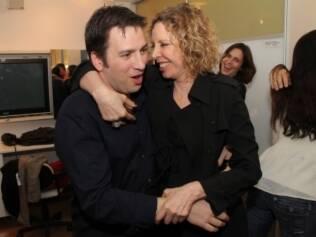 Christiano Cochrane e Marília Gabriela