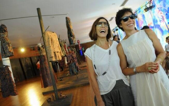 Mila Moreira e Angela Vieira