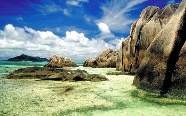 Seychelles fica ao norte de Madagascar. O casal deve ficar cerca de dez dias por lá