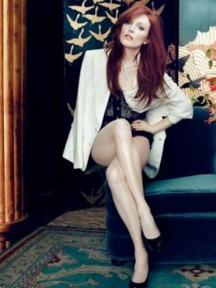 Julianne Moore na revista