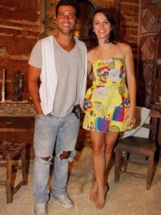 Bruno Gagliasso e Bianca Bin: vilão e mocinha da trama