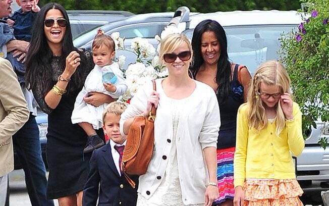 Camila Alves, Reese Witherspoon e os filhos