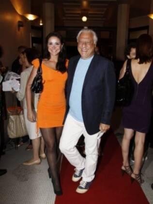 Antonio Fagundes e Alexandra Martins