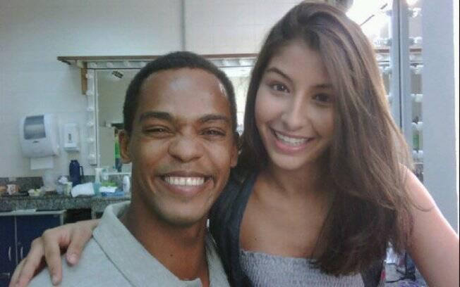 Rocco e Juliana Xavier, que interpretam os irmãos Lupi e Beatriz