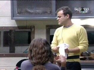 Jaque e Daniel organizam almoço