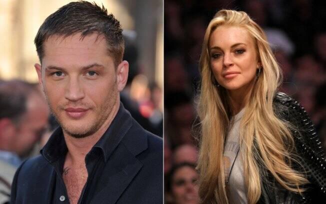 Tom Hardy e Lindsay Lohan