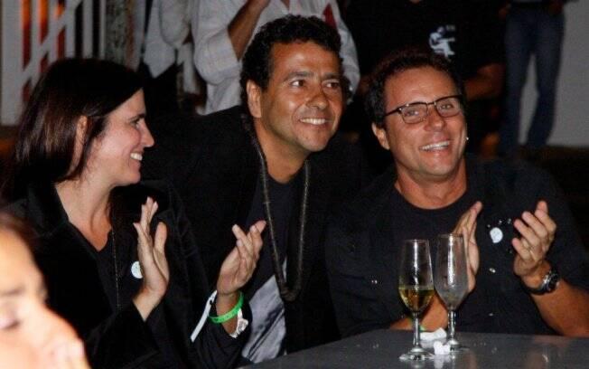 Malu Mader, Tony Bellotto e Marcos Palmeira