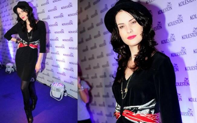 A atriz Mayana Moura apostou em seu look