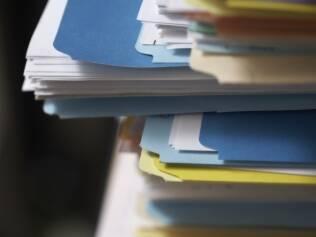 Guarde todos os documentos, mas organizados