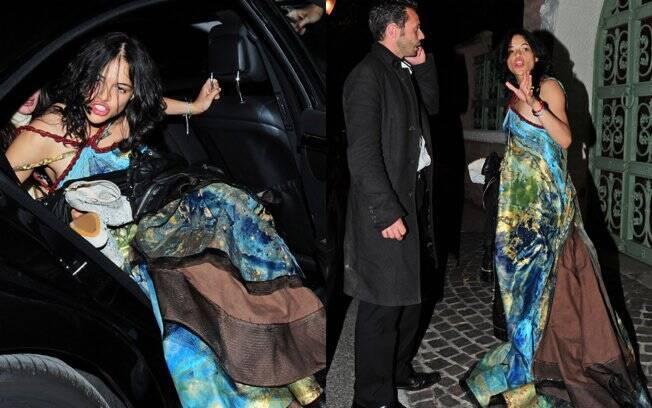 Michelle Rodriguez é flagrada embriagada em balada de Cannes