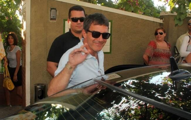 Antonio Banderas deixa restaurante