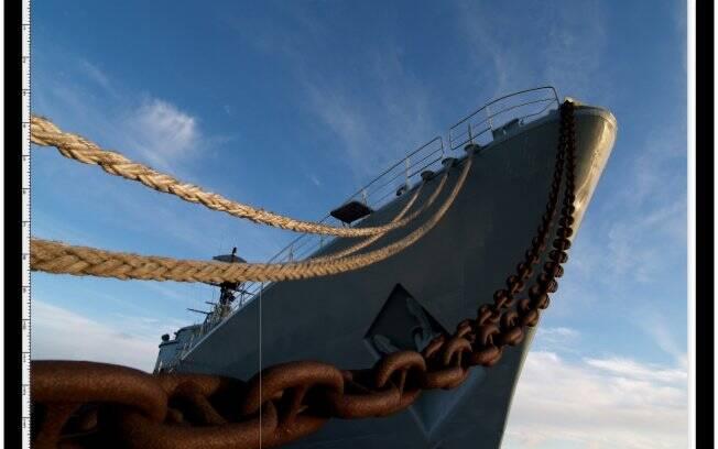 Passo 1: Path no navio