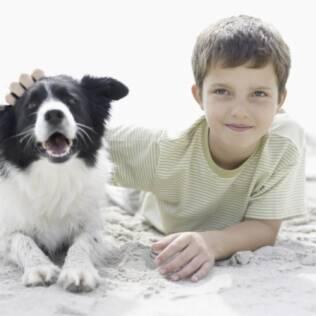 Se seu filho não se sente à vontade com cachorros, não o force
