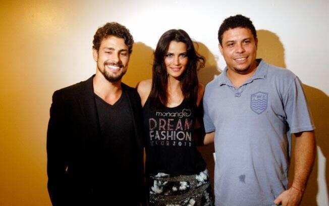 Cauã Reymond, Fernanda Motta e Ronaldo