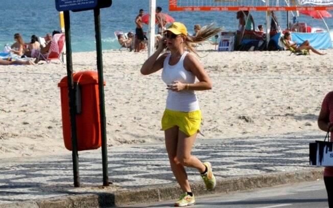 Fiorella Mattheis: nada de descanso no domingo