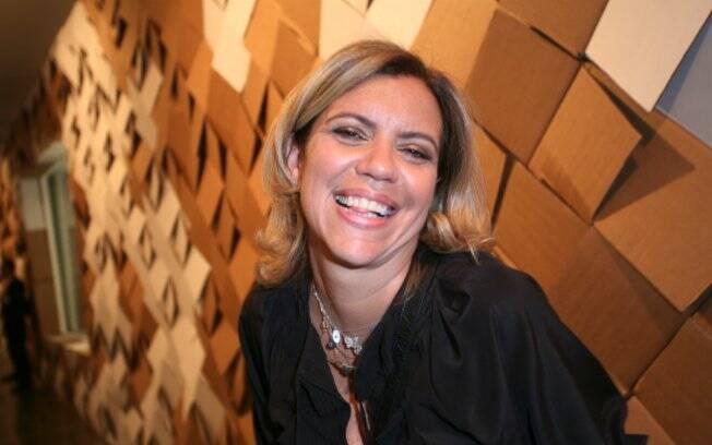 Astrid Fontenelle: gravações no aeroporto para novo programa