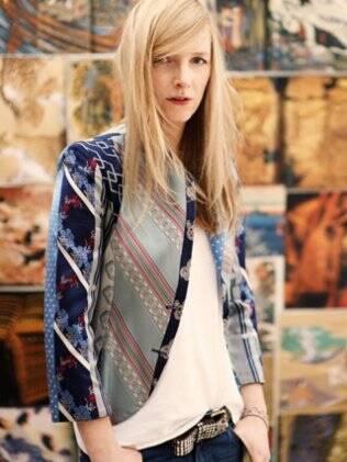 Sarah Burton, estilista responsável pelo vestido de Catherine Middleton