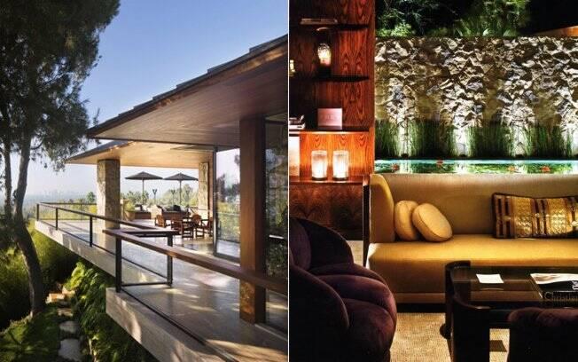 A mansão de Jennifer Aniston tem 1 mil metros quadrados de área construída e o terrno 4 mil metros quadrados
