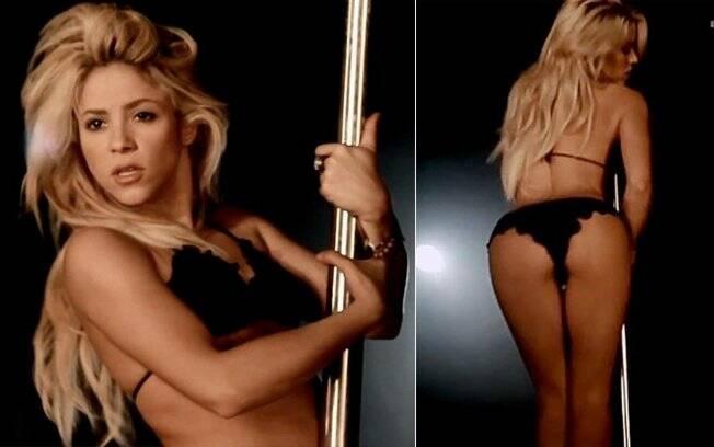 Shakira aparece de lingerie no videoclipe
