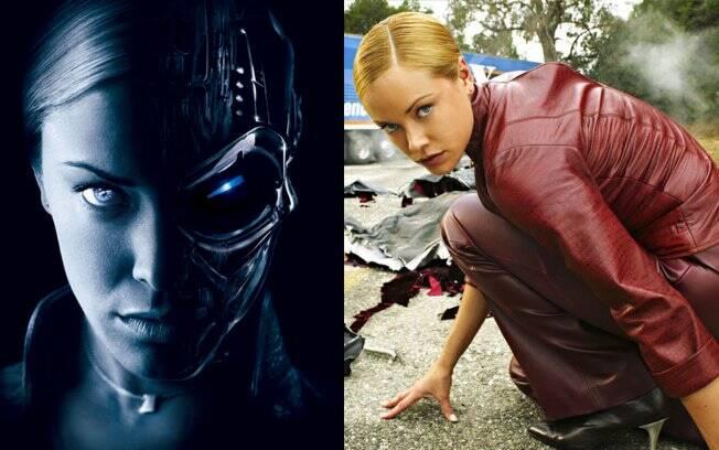 Kristanna Loken como T-X em