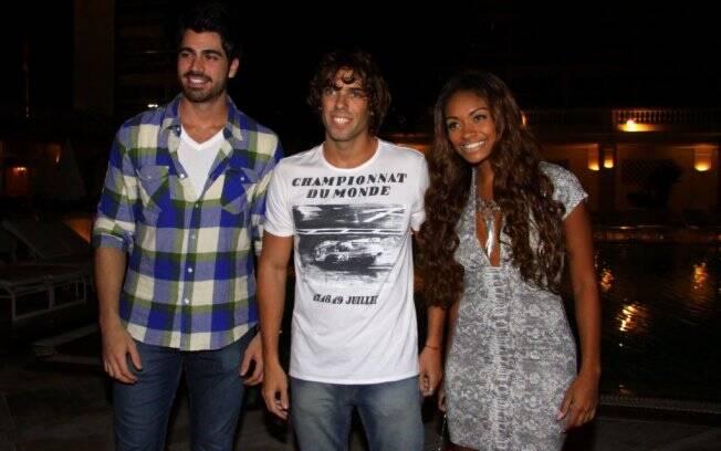 Rodrigão, Maurício e Jaqueline