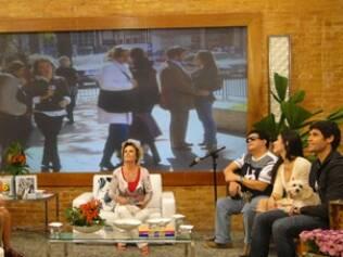 Ana Maria Braga entre seus convidados no programa
