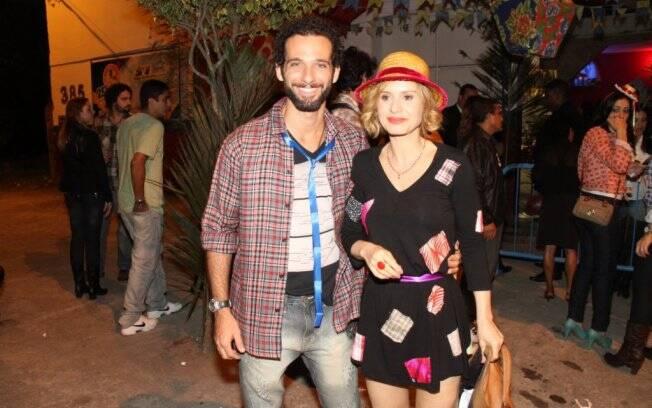 Mouhamed Harfouch e Paula Burlamaqui
