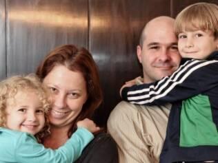 Eric desmaiou dentro do centro cirúrgico no nascimento de seu primeiro filho, Samuel