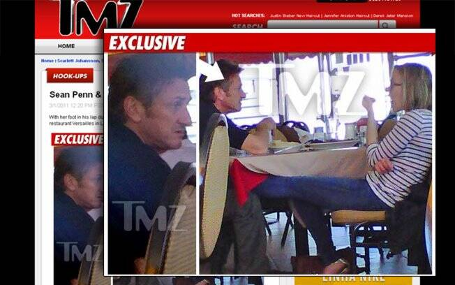 Scarlett Johansson e Sean Penn juntos