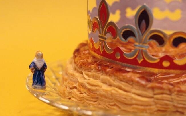 Bolo de Reis: se encontrar o bonequinho, é rei. Mas entrega a galette no ano seguinte