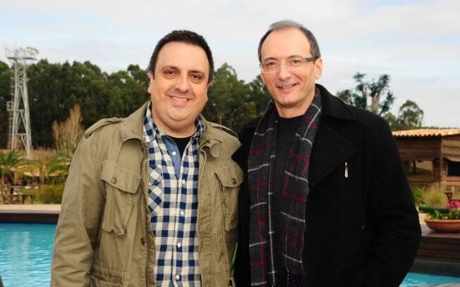 Rodrigo Carelli e Britto Jr. preparados para mais uma edição de