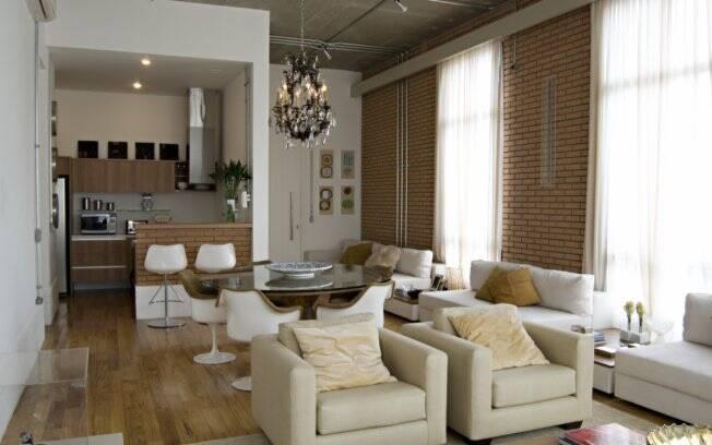 O charme de morar em um loft arquitetura ig for Ideas decoracion loft