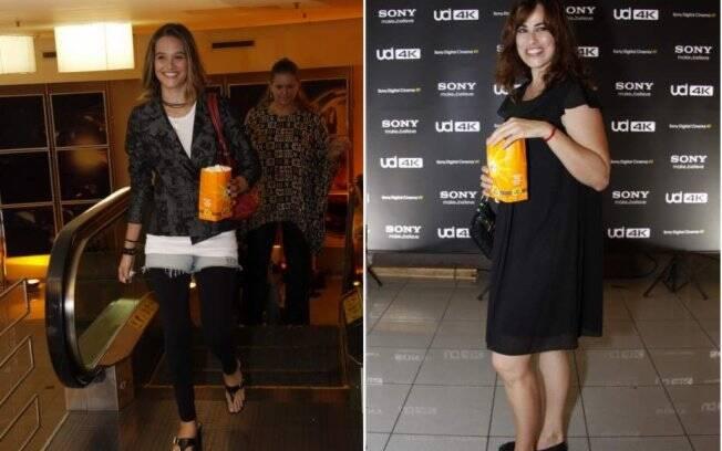 Juliana Paiva e Daniela Escobar interpretam Val e Daguilene em